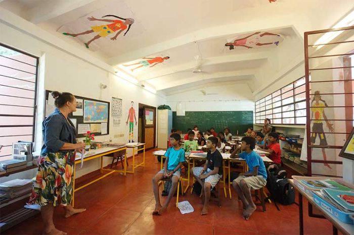 Instruirea elevilor din Auroville este gratuită.jpg